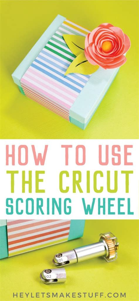 What is the Cricut Scoring Wheel? Tips, Tricks, and Ideas