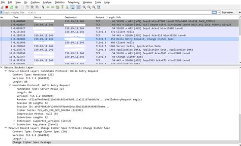 Why does Wireshark show Version TLS 1