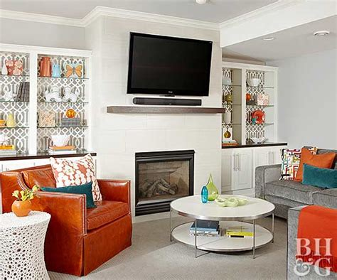 TVs Over Fireplaces | Better Homes & Gardens