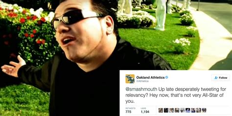 Finally, the Oakland A's Went After Smash Mouth on Twitter