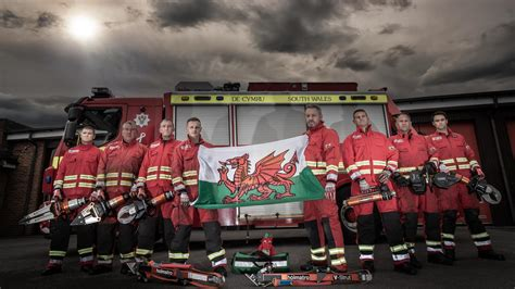 South Wales Firefighters compete to defend their title in