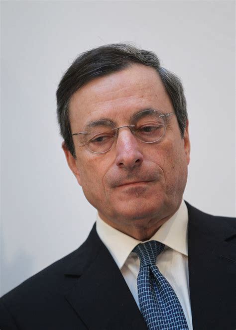 Mario Draghi Speaks At Ludwig Erhard Lecture - Zimbio