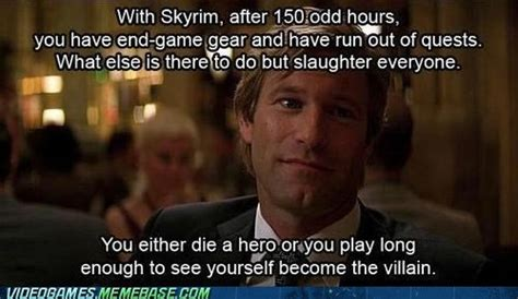 You either die a hero