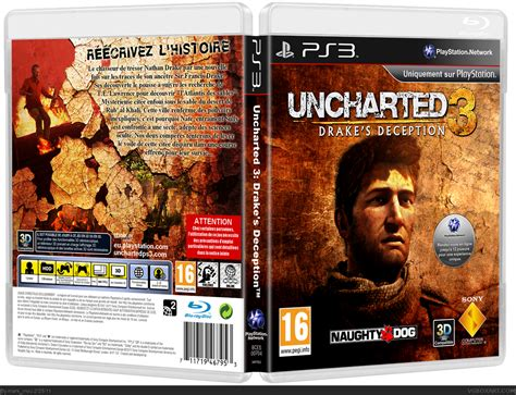 Uncharted 3: Drake's Deception PlayStation 3 Box Art Cover