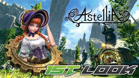 Astellia Online - First Look - YouTube