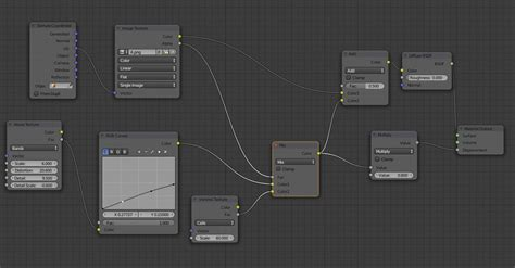 texturing - How to add a displacement map on a plane using