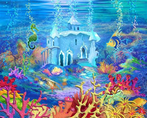 Mysterious and Fantasy Undersea World