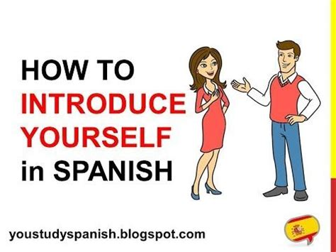 Spanish Lesson 5 - How to INTRODUCE YOURSELF in Spanish