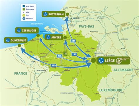 Info • anvers carte europe • Voyages - Cartes