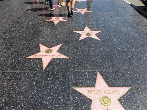Hollywood Walk of Fame, Hollywood, California   The