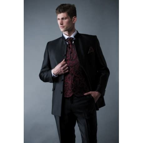 Costume col mao homme mariage - fermeleycaut