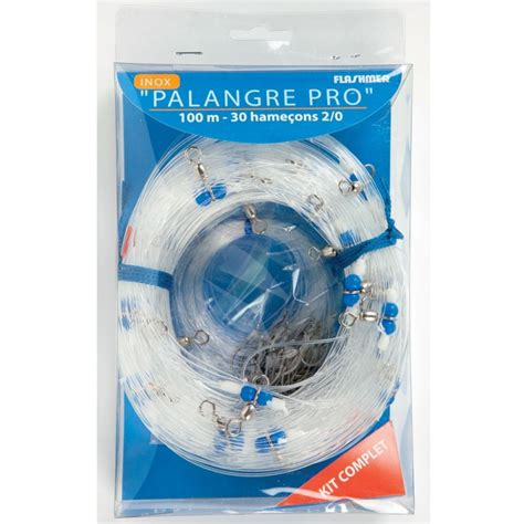 PALANGRE PRO 100M 30 HAMECONS 2/0 - Fish In Golfe