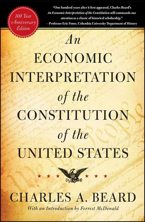 An Economic Interpretation of the Constitution of The