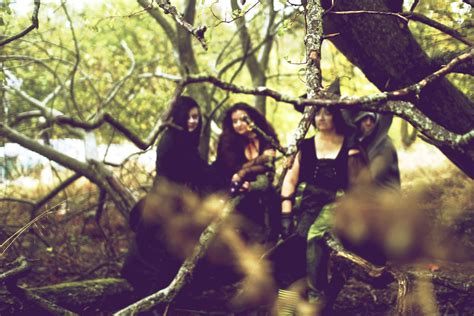 Witches in the Woods by Lisarey Photography
