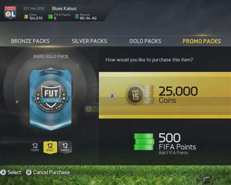 Rare Gold 25K packs end today in FUT 15 – Product Reviews Net