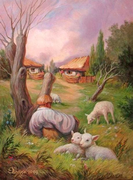 Ukranian Painter Masters the Art of Optical Illusion: Two
