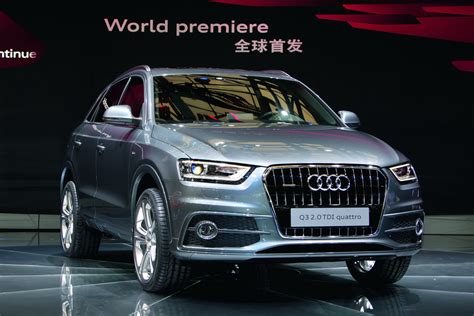 Audi UK Puts a Price Tag on its New Q3 'baby' SUV ~ Cool